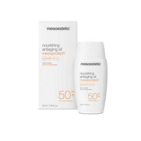Mesoprotech nourishing antiaging oil mesoestetic protector solar 50