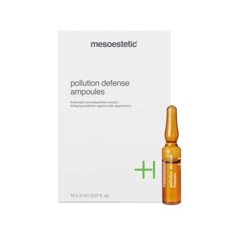 Pollution defense ampoules